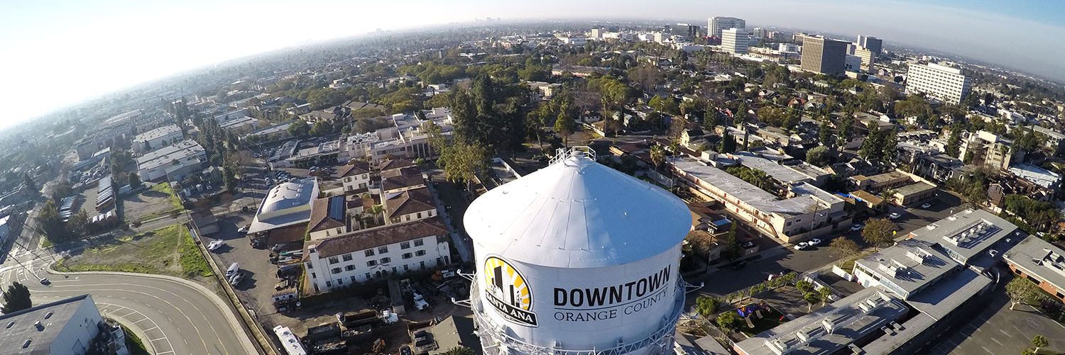 Image result for santa ana water tower